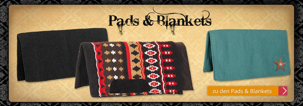 Western Pads & Blankets